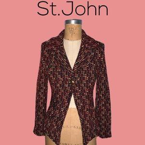 St. John jacket NWT amazing!!